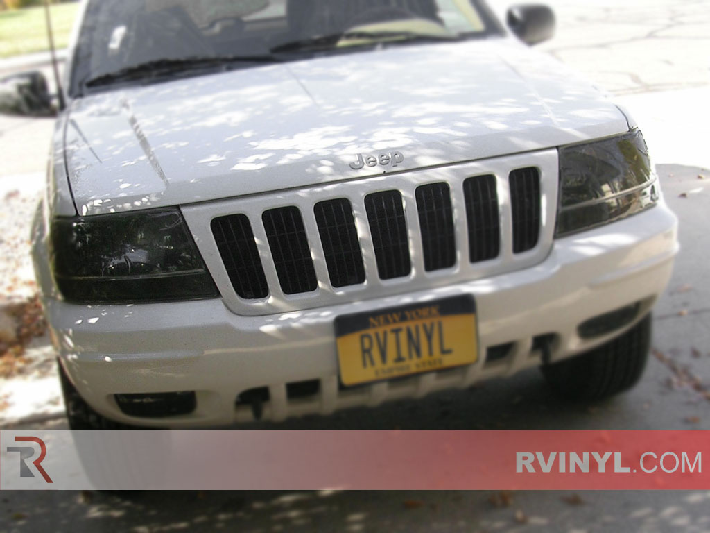Jeep Grand Cherokee 1999-2003 Smoked Headlights