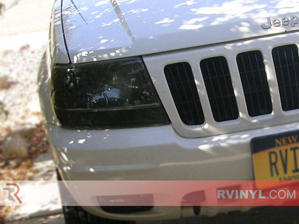 Jeep Grand Cherokee 1999-2003 Tinted Headlights