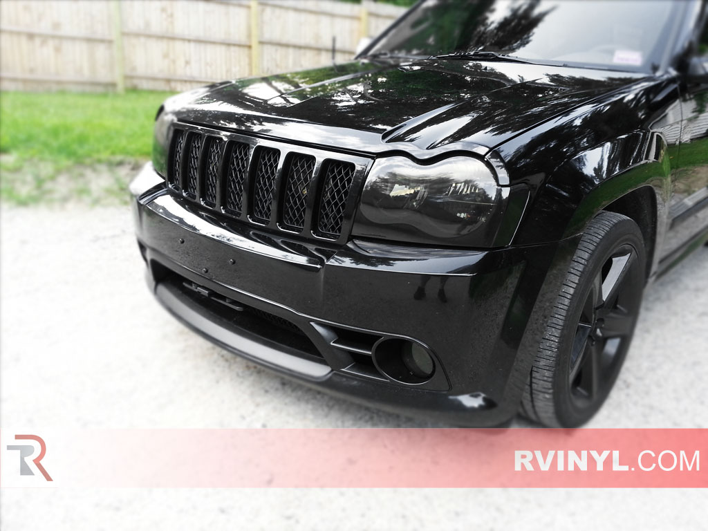 Jeep Grand Cherokee 2005-2007 Headlight Covers