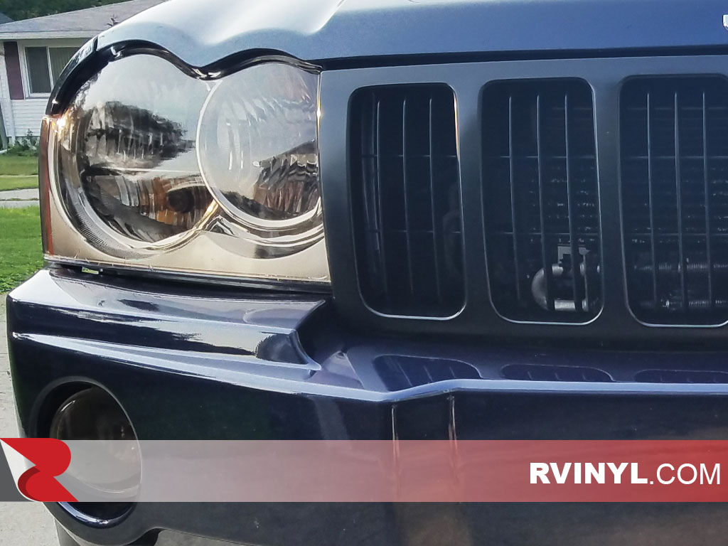 Rtint� Jeep Grand Cherokee 2005-2007 Headlight Tints