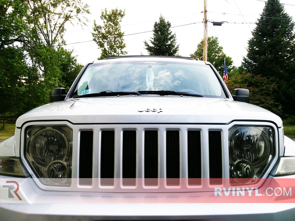 Rtint� Jeep Liberty 2008-2012 Headlight Tint