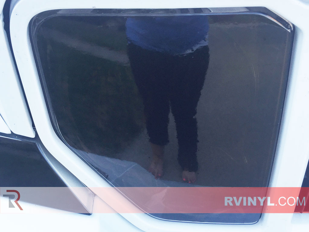 Rtint� 2008-2012 Jeep Liberty Headlight Tint - Blackout