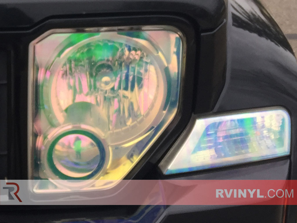 Rtint� 2008-2012 Jeep Liberty Headlight Tint - Chameleon