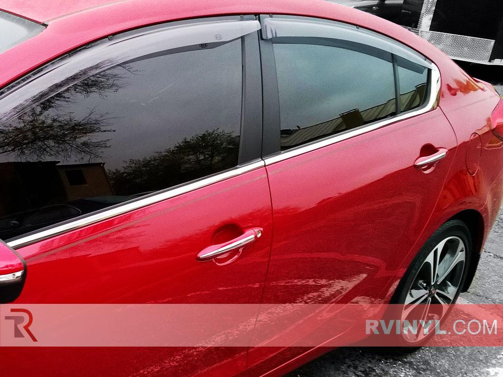 Red Window Tint >> Rtint Kia Forte 2014 2018 Window Tint Kit Sedan