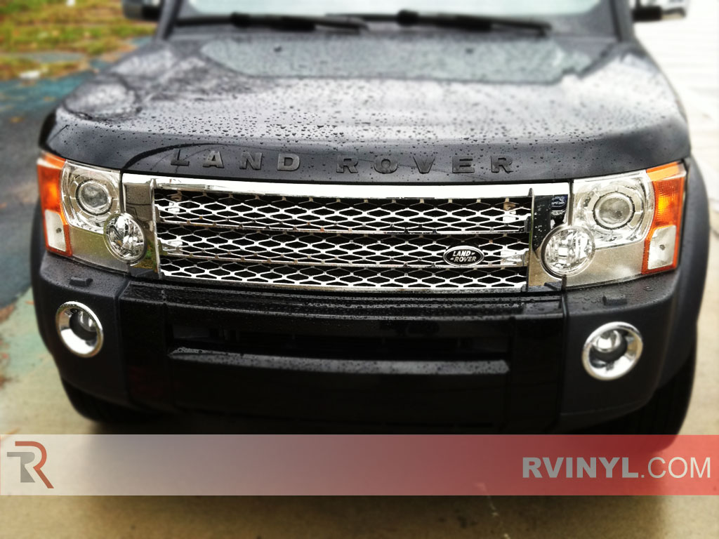 land rover lr3 2005 2009 blackout headlights