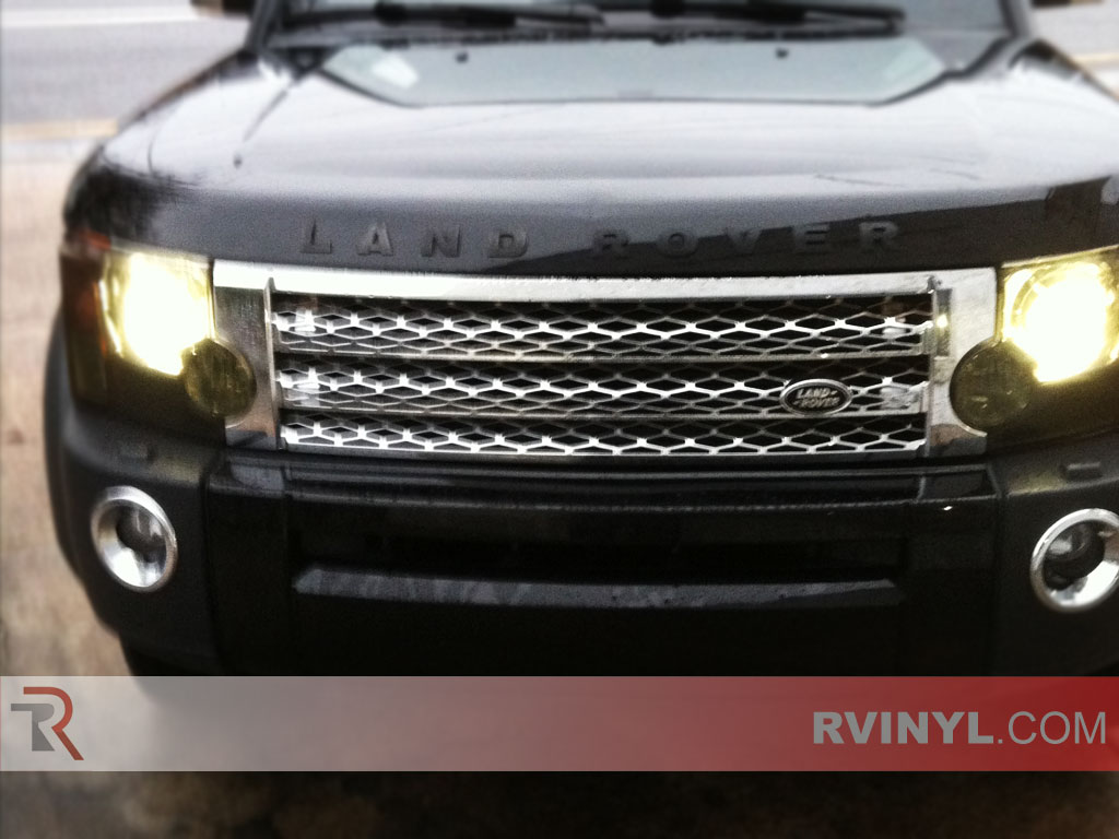 Land Rover LR3 2005-2009 Tinted Headlights