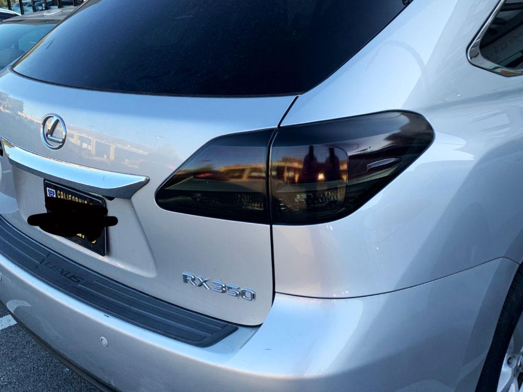 Rtint Tail Light Tint Precut Smoked Film Covers for Lexus ES 2013-2015