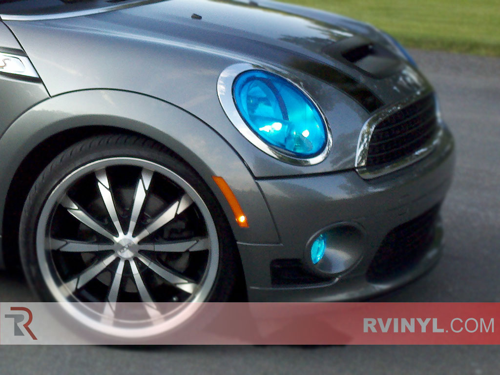 Mini Cooper 2007 2017 Precut Headlight Tint