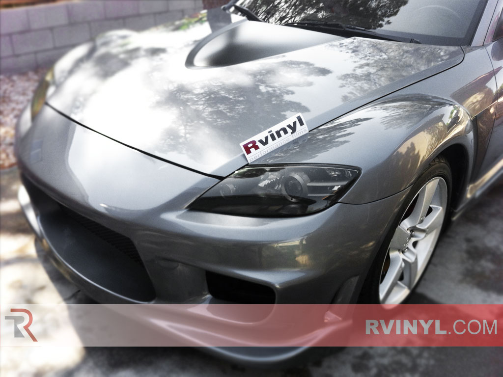 Mazda RX-8 2004-2008 Smoked Headlights