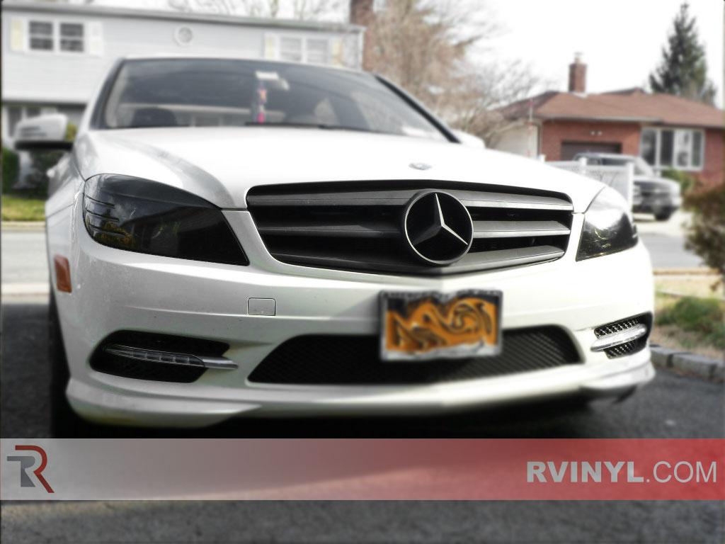 Rtint mercedes benz c class sedan 2005 2008 2011 for Mercedes benz c300 headlights