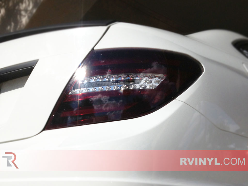 Mercedes Benz C Class 2008 2014 Tinted Tail Lights