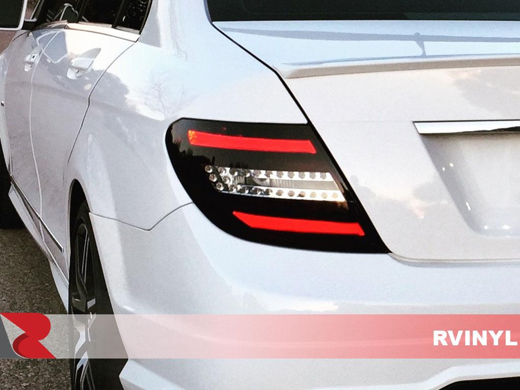 Rtint 174 Mercedes Benz C Class 2008 2014 Tail Light Tint Film