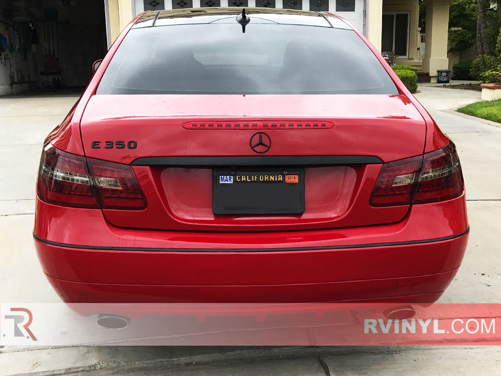 Rtint mercedes benz e class coupe 2010 2013 tail light tints for 2010 mercedes benz e class e350 price