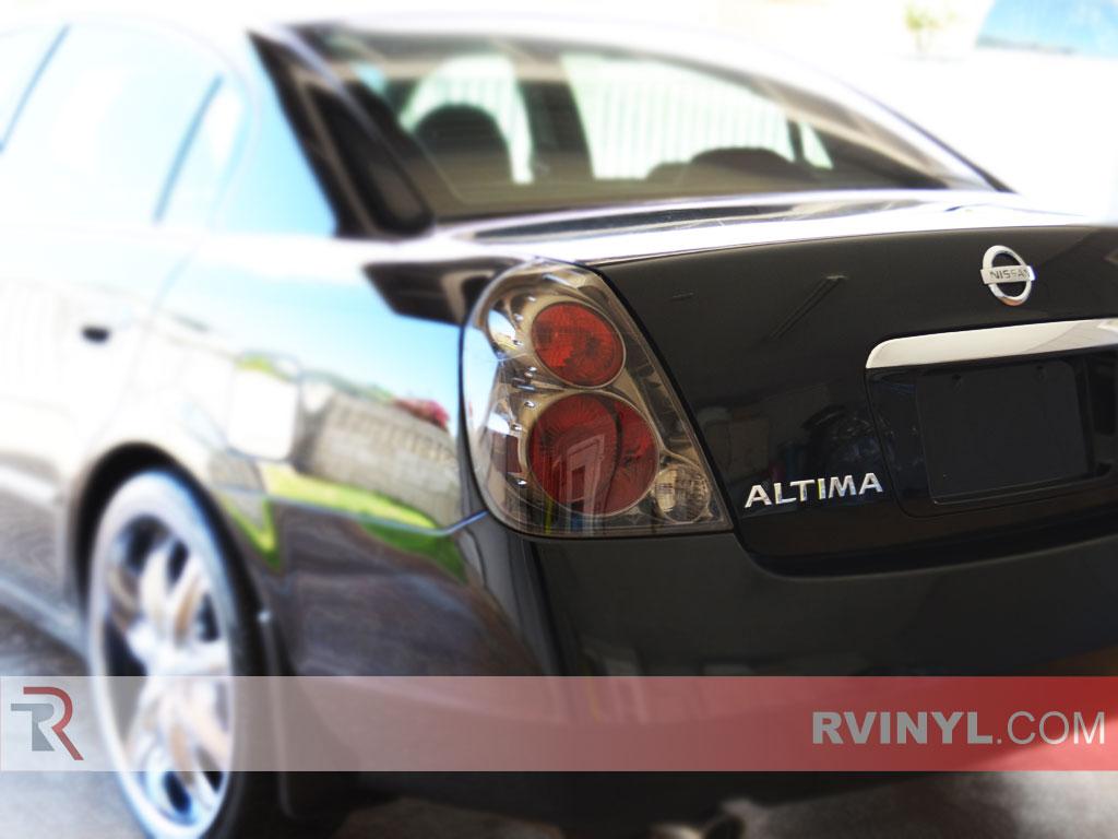 Nissan Altima 2002 2006 Smoked Tail Lights