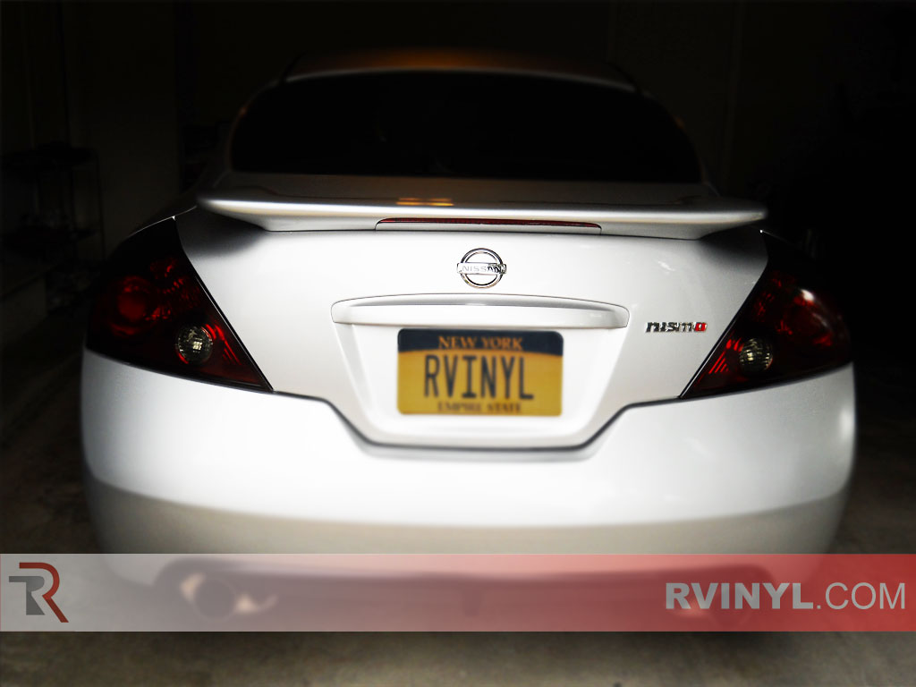 Rtint nissan altima coupe 2008 2016 tail light tint film 2015 nissan altima interior lights