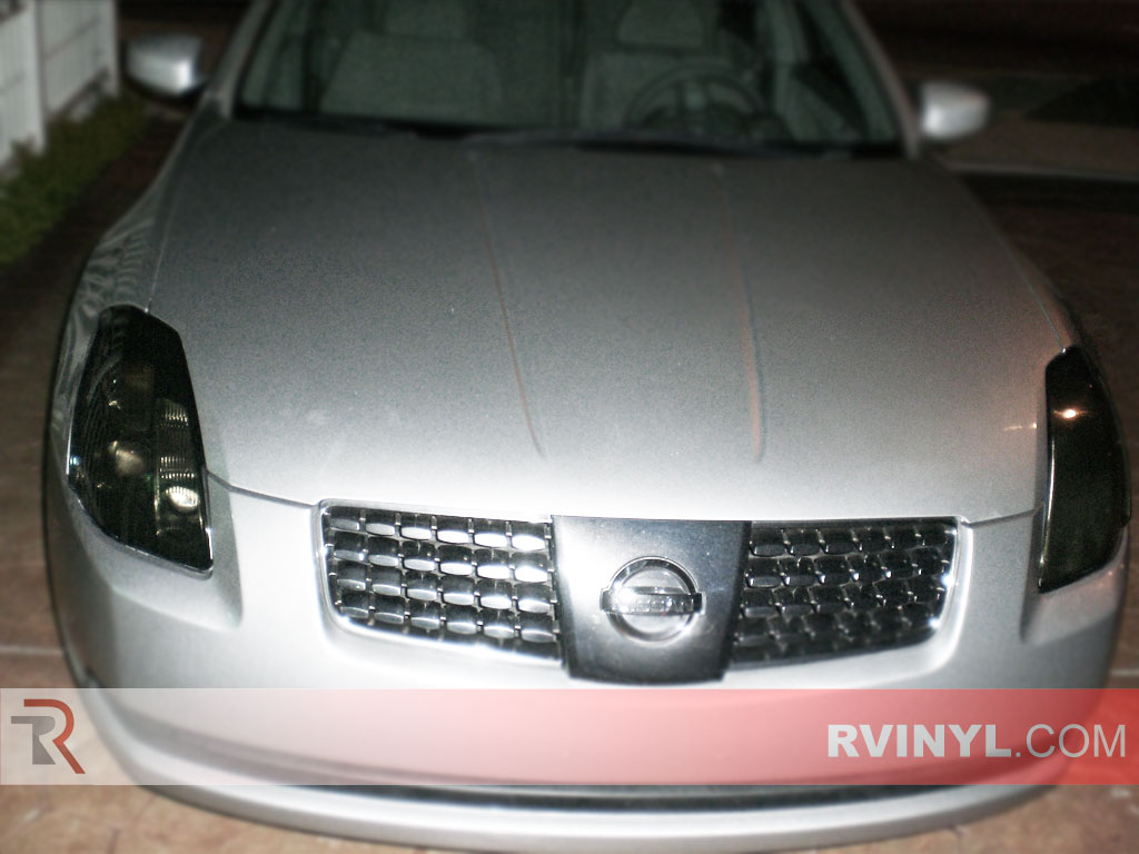 Nissan Maxima 2004-2006 Headlight Tints