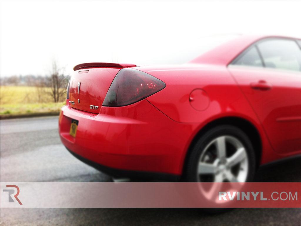 Rtint Pontiac G6 Sedan 2006 2009 Tail Light Tint Film