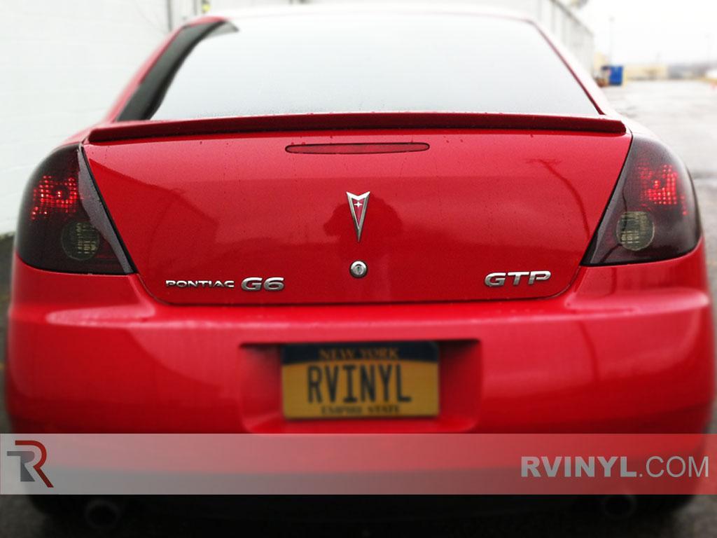 Pontiac G6 Sedan 2006 2009 Blackout Tail Lights