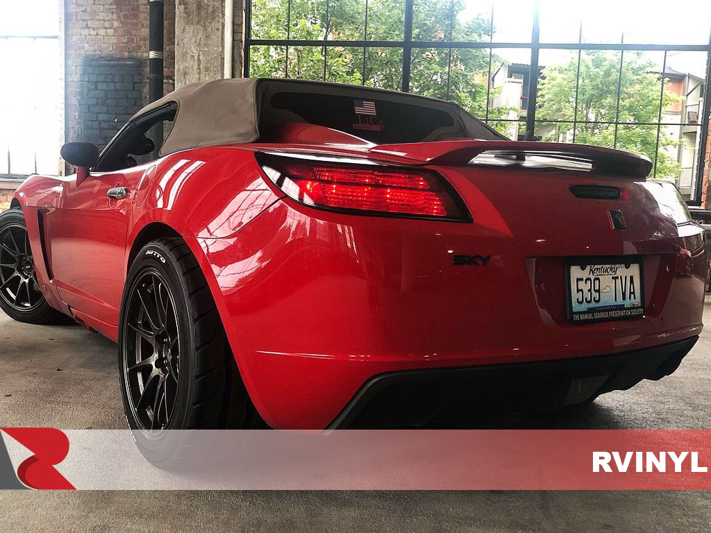 Rtint 2007 Saturn Sky Precut Blackout Smoke Tail Light Tint