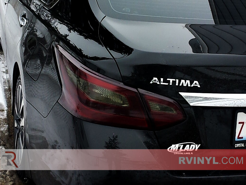 Altima Blacked Out Tail Light Wraps Amazing Design