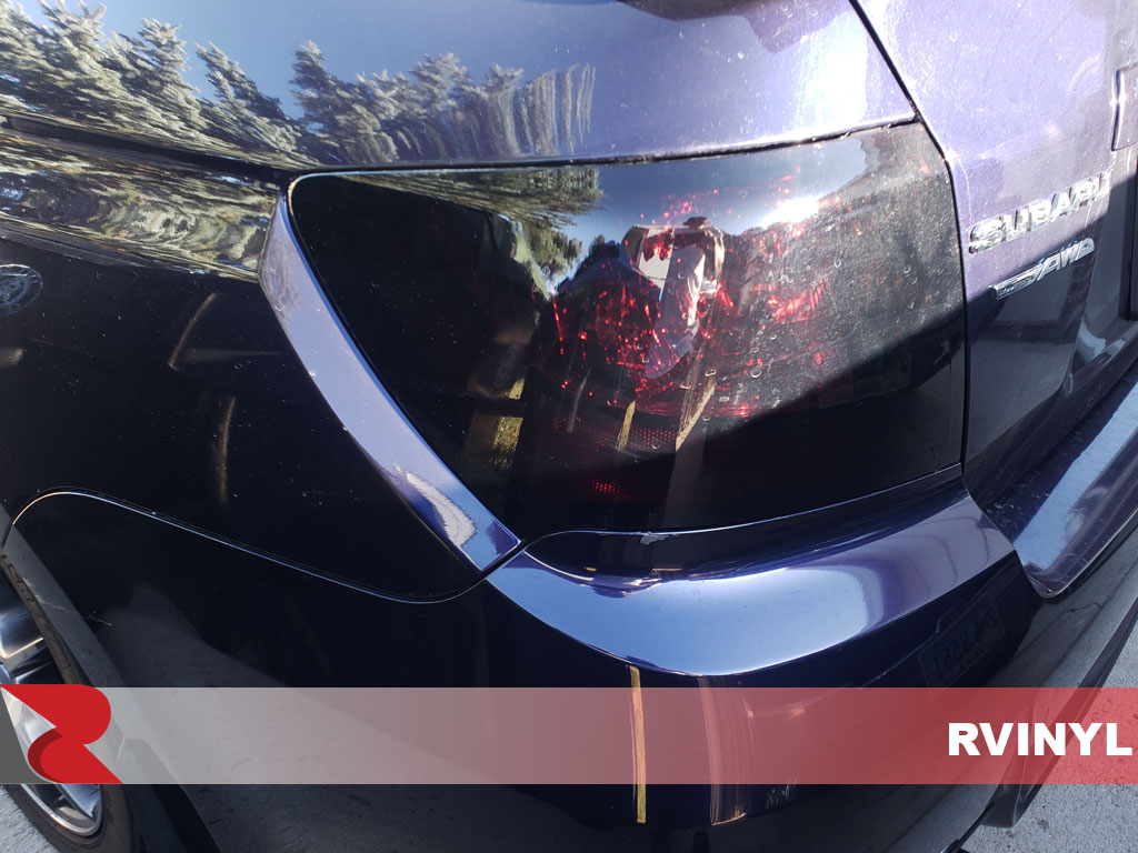 Rtint Impreza WRX Black Out Tail Light Wrap