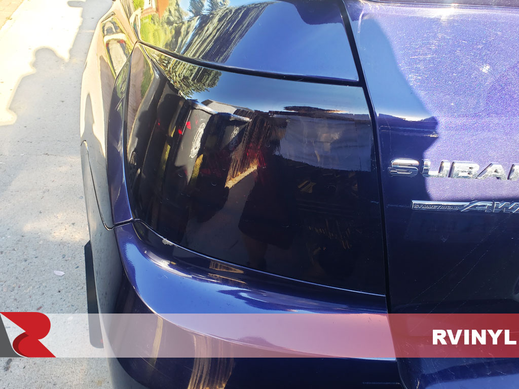 Rtint Impreza WRX Black Out Tail Light Tint