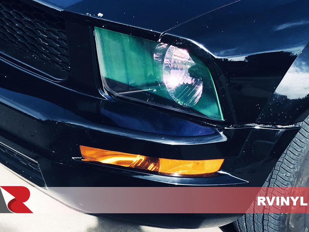 """12/""""X108/"""" Galaxy Neo Chrome Clear Pearl Headlight Taillight Fog Light Tint Film"""