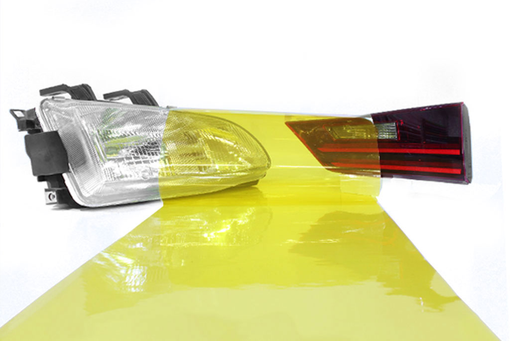 Rtint™ Smoke Vinyl Film Wrap - Yellow