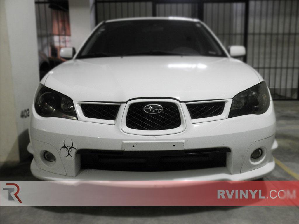 Rtint Subaru Impreza 2006 2007 Headlight Tint Film Wrx Fog Light Wiring Harness Tints