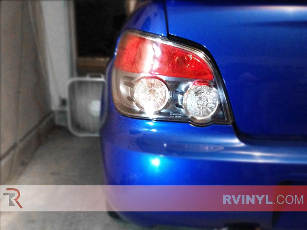 Subaru Wrx Sedan 2006 2007 Tail Lights