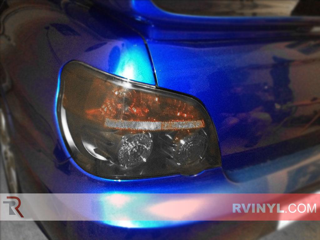 Subaru Wrx Sedan 2006 2007 Tinted Tail Lights