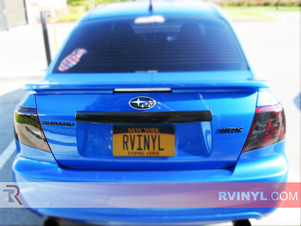 rtint subaru wrx sedan 2008 2014 tail light tint film. Black Bedroom Furniture Sets. Home Design Ideas