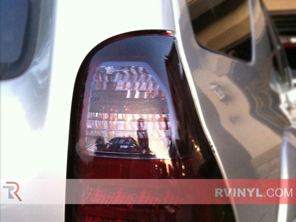 rtint toyota 4runner 2006 2009 tail light tint film. Black Bedroom Furniture Sets. Home Design Ideas