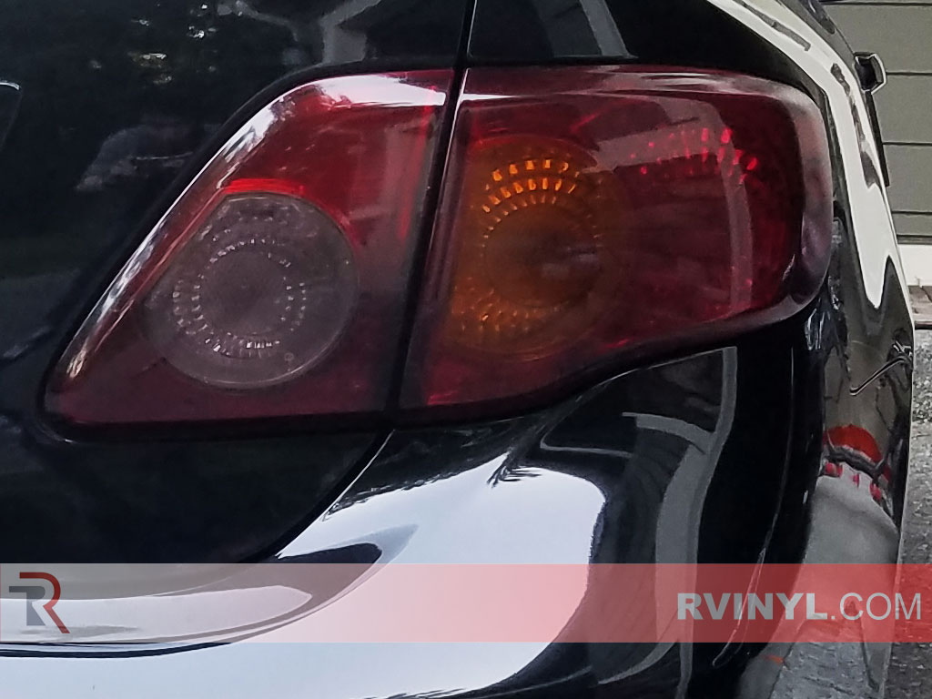 rtint 2009 2010 toyota corolla taillight tint