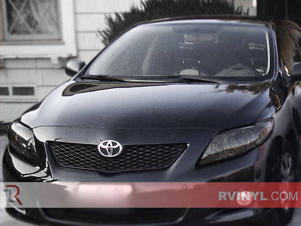 Toyota Corolla 2009 2017 Smoked Headlights