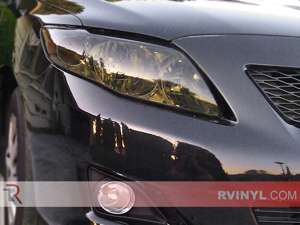 Toyota Corolla 2009 2017 Blackout Headlights
