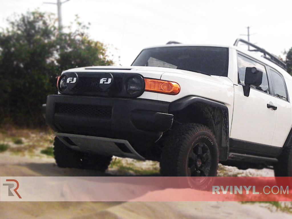 Toyota FJ Cruiser 2007-2014 Smoked Headlights
