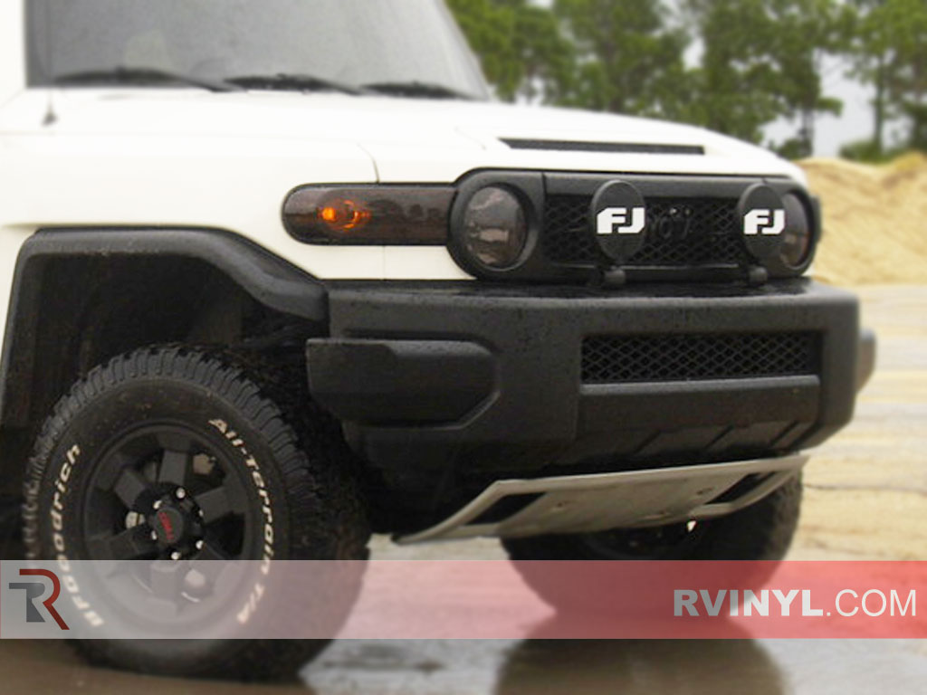 Toyota FJ Cruiser 2007-2014 Tinted Headlights