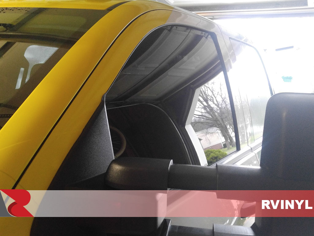 Rtint Chevrolet Silverado 2014-2018 2 Door Driver Window 20% Window Tint