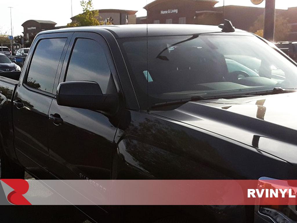 Rtint Chevrolet Silverado 2014 2018 4 Door Window Tint