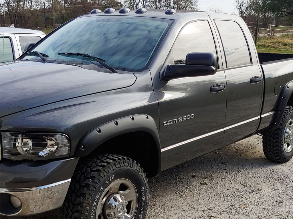 Rtint 2002 Dodge Ram Driver Window Tint With 20 Percent VLT