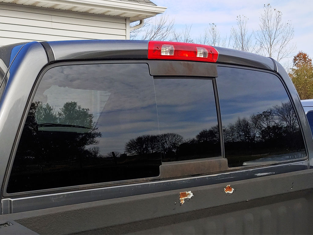 Rtint 2002 Dodge Ram Rear Windshield With 20 Percent VLT