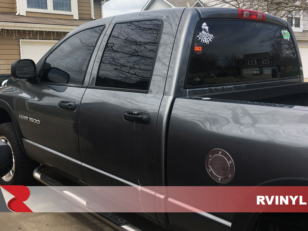 Rtint 2002 Dodge Ram Driver Side Windows With 5 Percent VLT