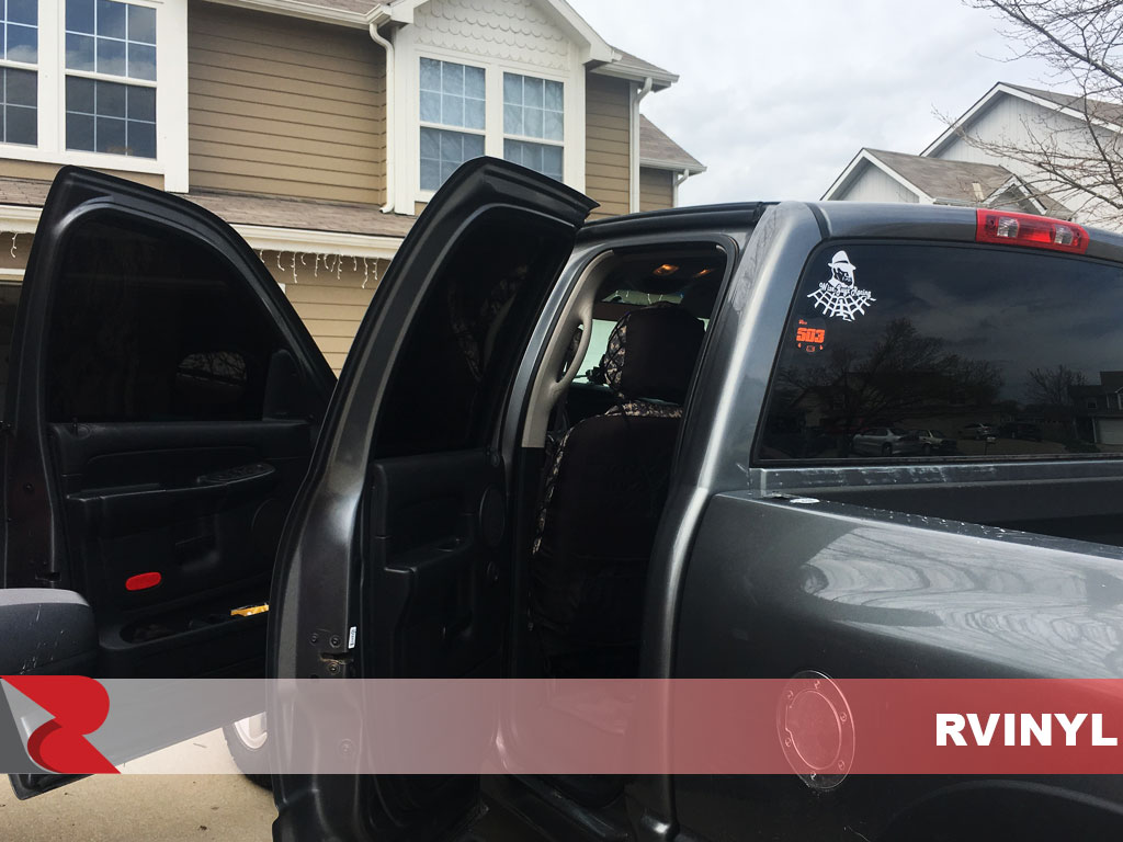 Rtint 2002 Dodge Ram Open Driver Side Doors With 5 Percent VLT
