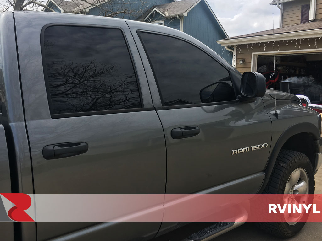 Rtint 2002 Dodge Ram Passenger Side Windows With 5 Percent VLT