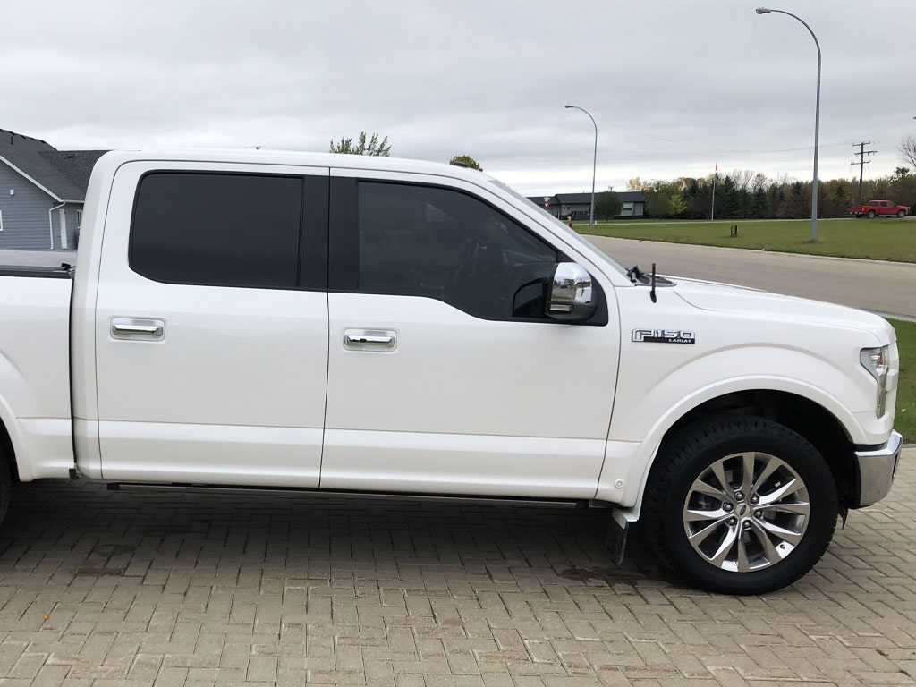 - Complete Kit 5/% Rtint Window Tint Kit for Ford F-150 2015-2018 4 Door Super Crew