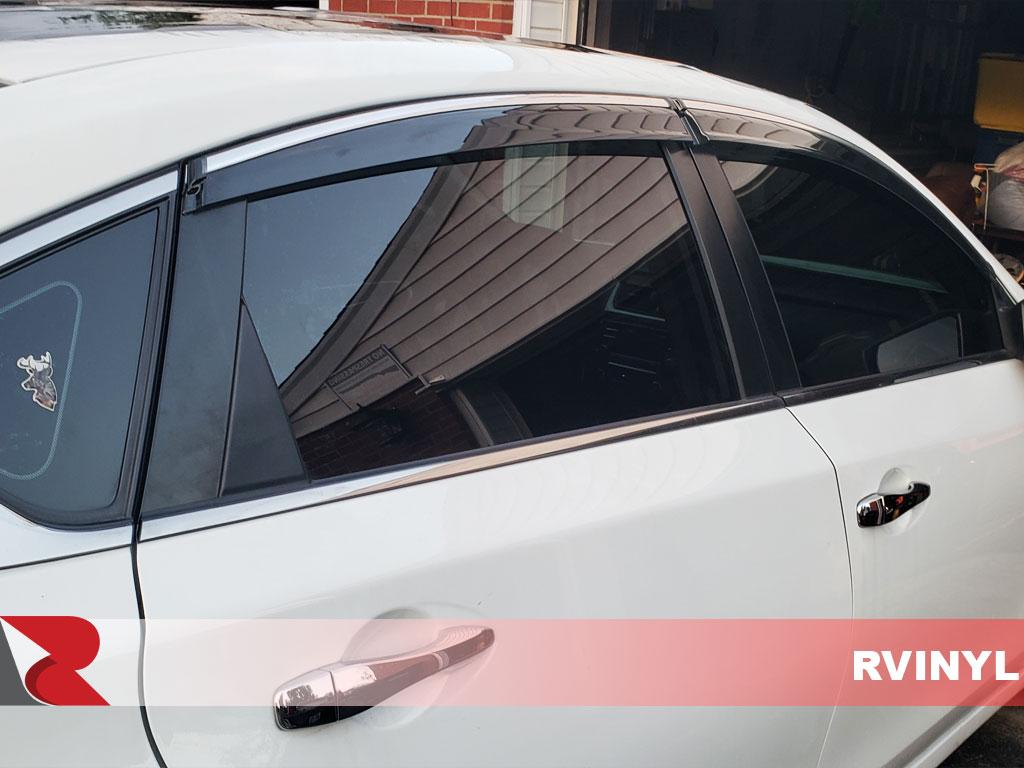 Front Kit Precut Window Tint Kit Window Film Fits 2007-2012 Nissan Sentra