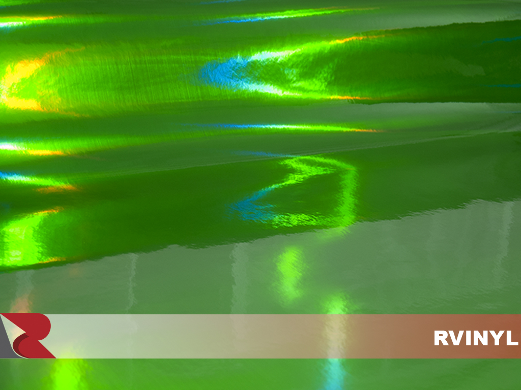 Rwraps™ Holographic Chrome - Green Neochrome - NC-60-004