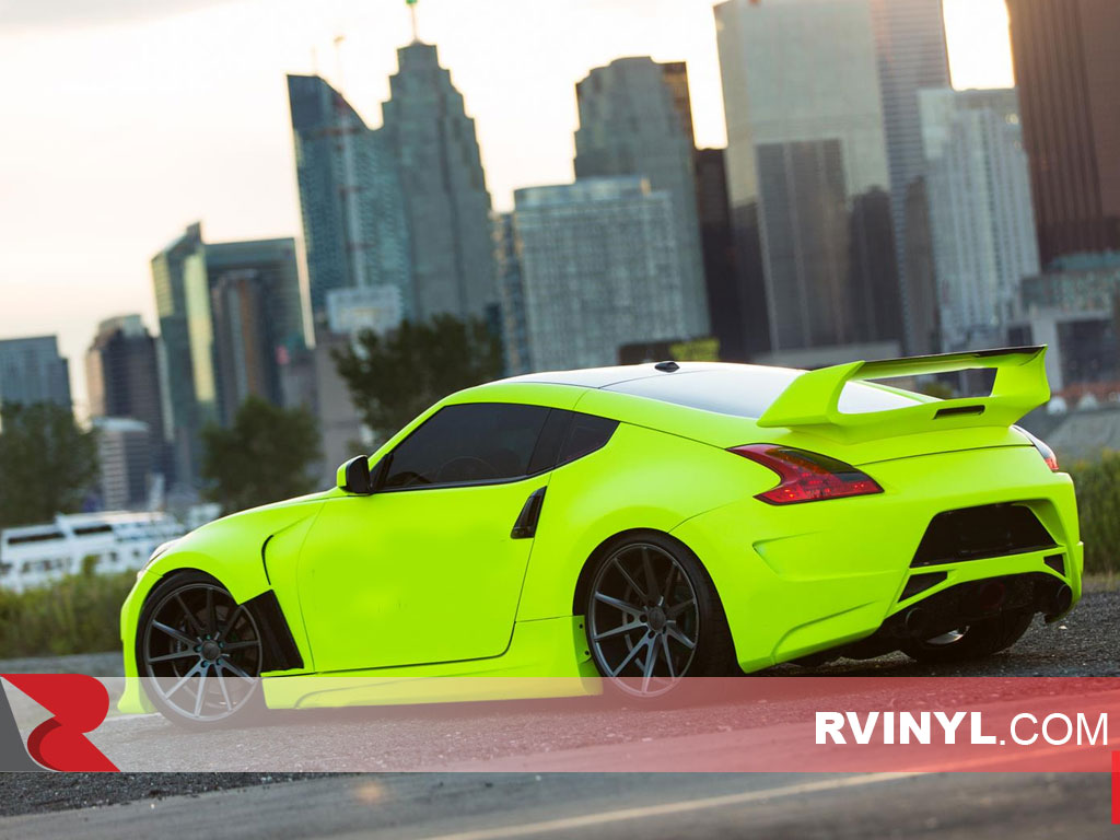 Rwraps Neon Green Vehicle Wrapping Film