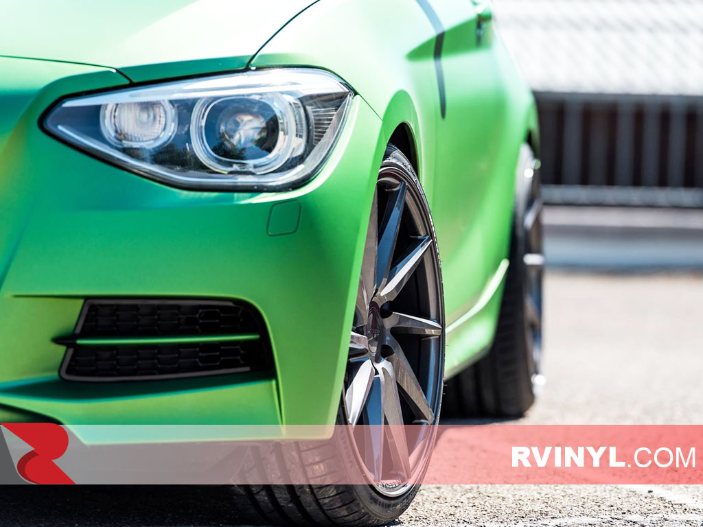 Rwraps Bubble Free Green Matte Chrome Wrapping Films
